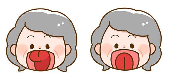 口周りの体操