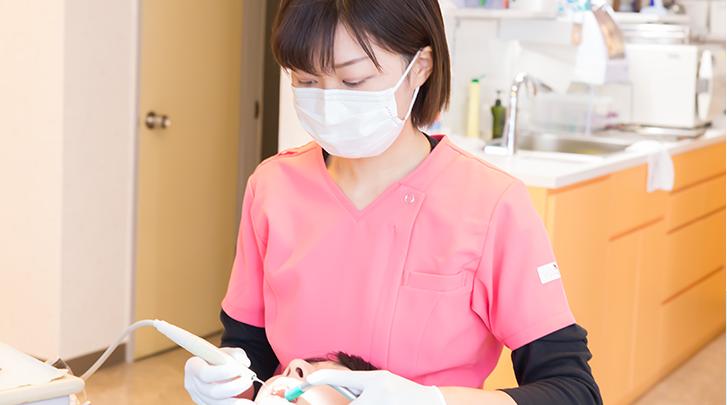 歯周病を予防する